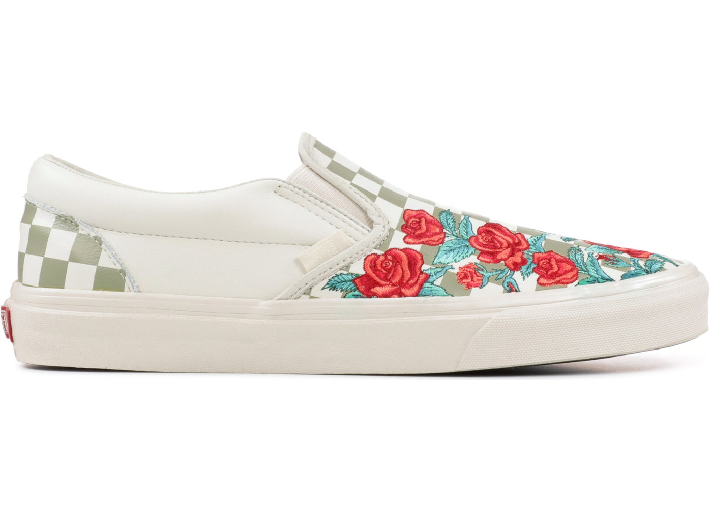 Vans Slip-On Rose Embroidery - VN0A38F8QF9