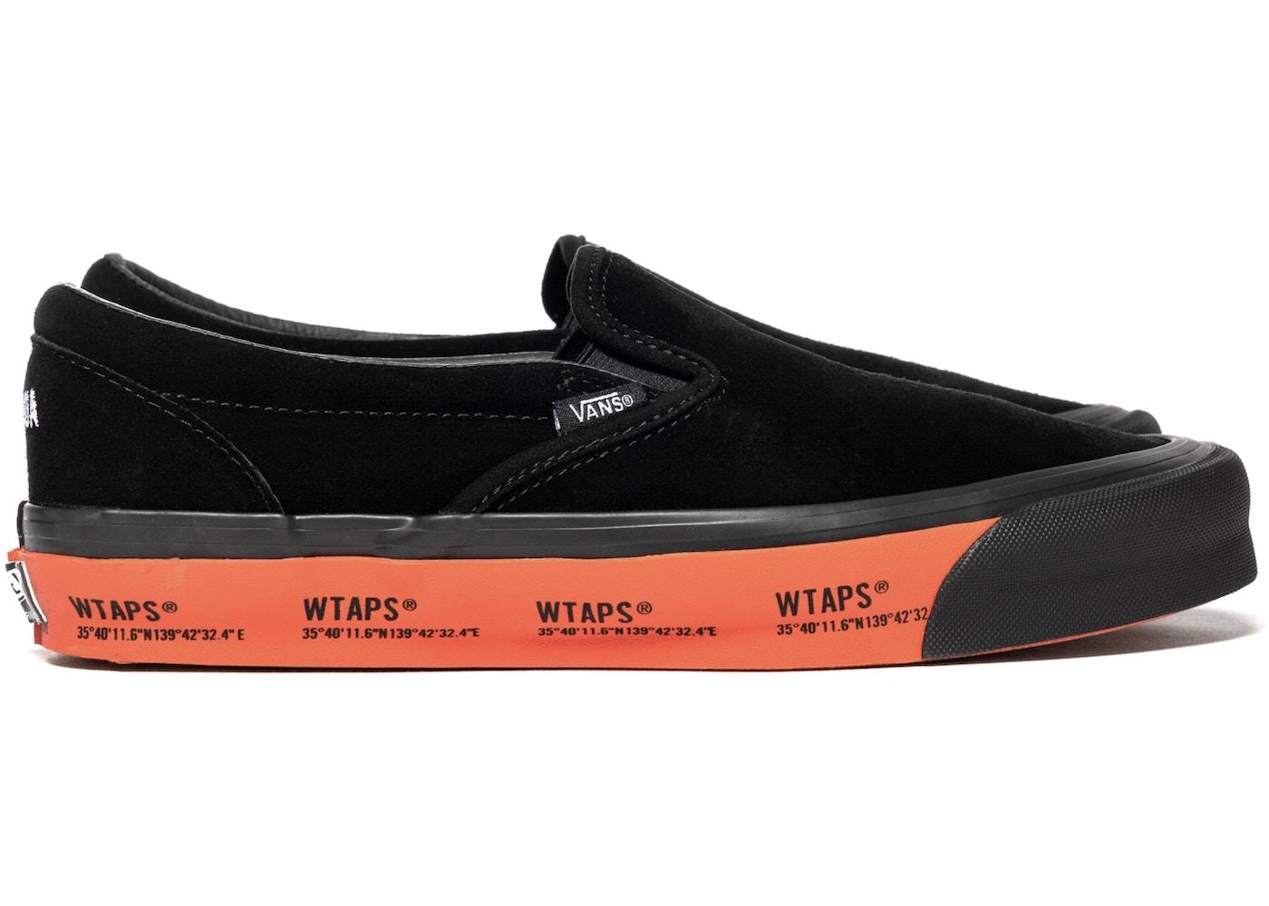 Vans Slip-On WTAPS Black Orange - VN0A45JK20E1