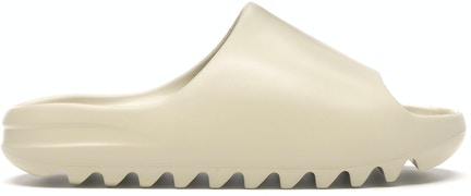 Yeezy Slide Bone, available on stockx.com for $248 Kendall Jenner Shoes Exact Product