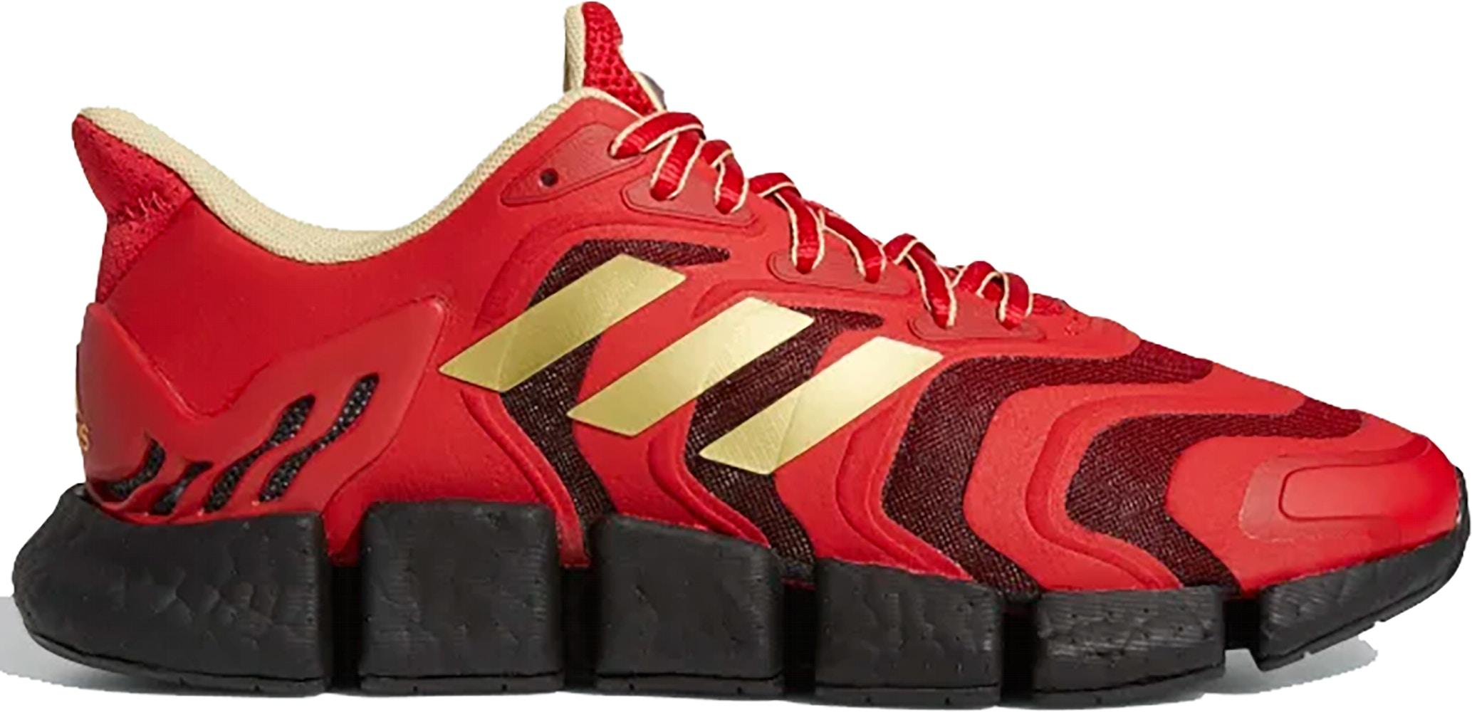 adidas Climacool Vento Scarlet Black Gold