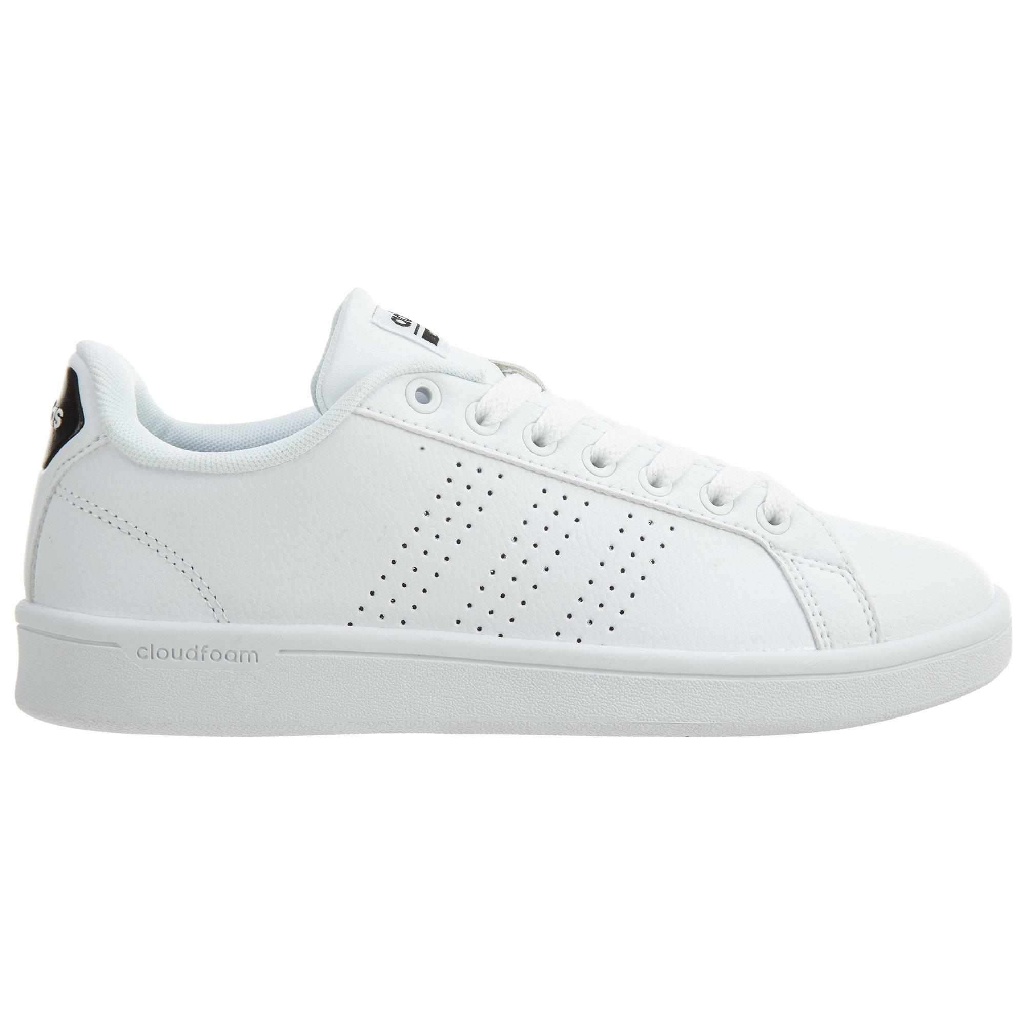 adidas Cloudfoam Advantage Clean White White-Black (W)