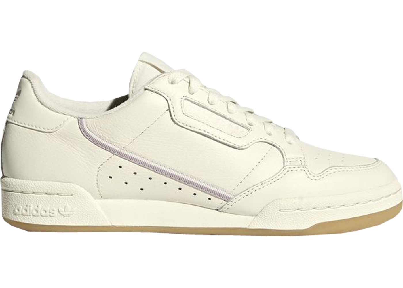 Aprovechar calcio Continental  adidas Continental 80 Off White Orchid Tint - G27718