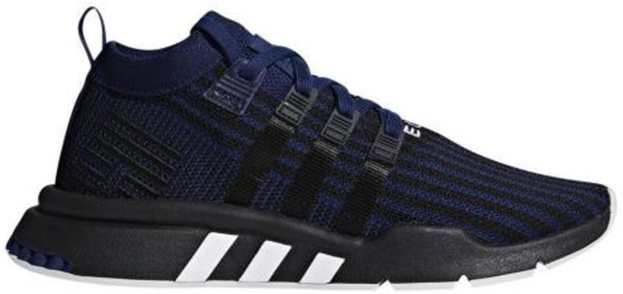 adidas EQT Support Mid Adv Blue Core Black - B37512