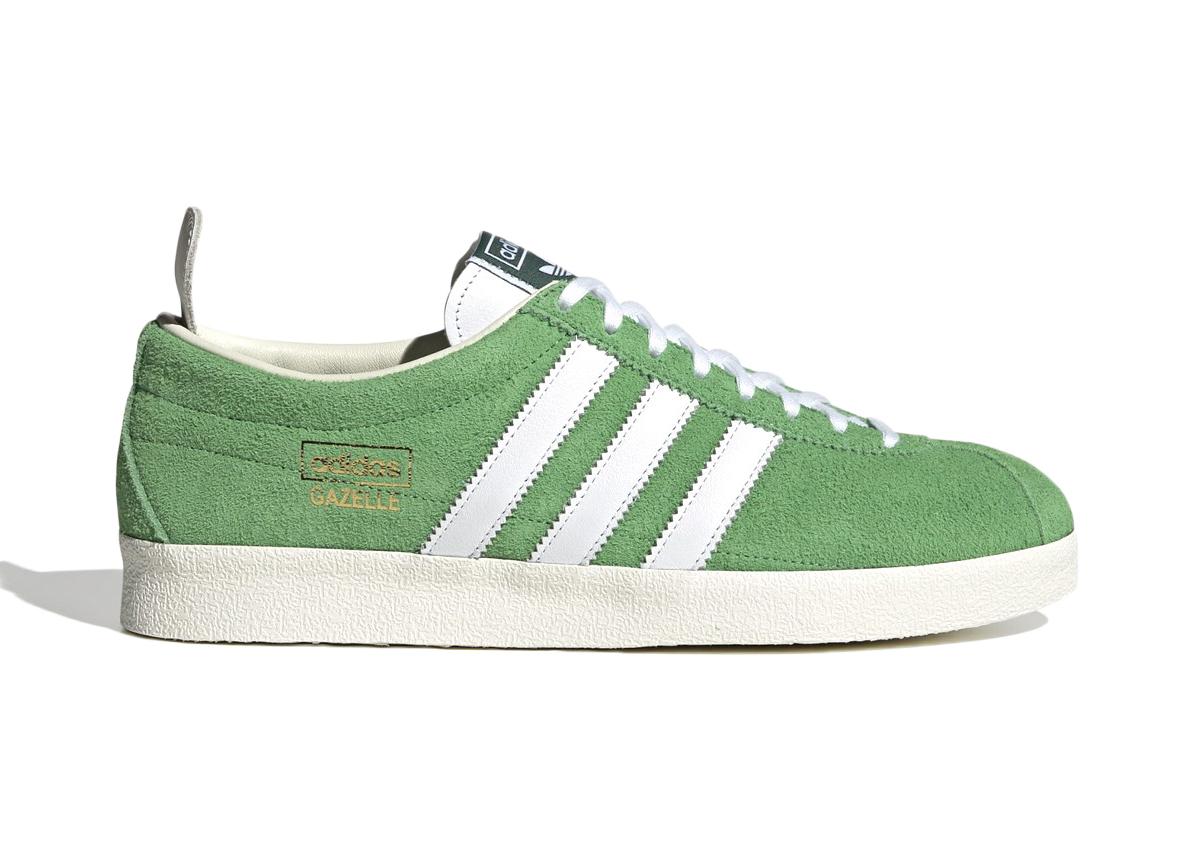 adidas Gazelle Vintage Semi Flash Green