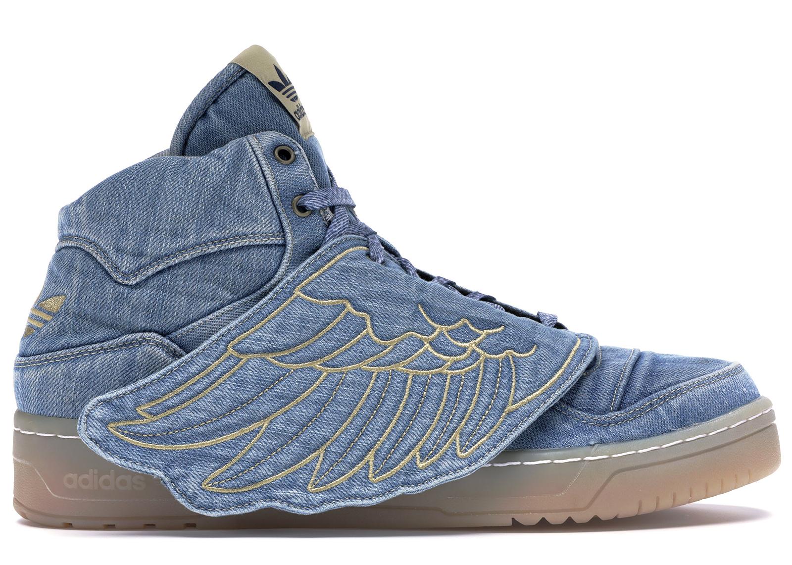 adidas JS Wings Jeremy Scott Denim