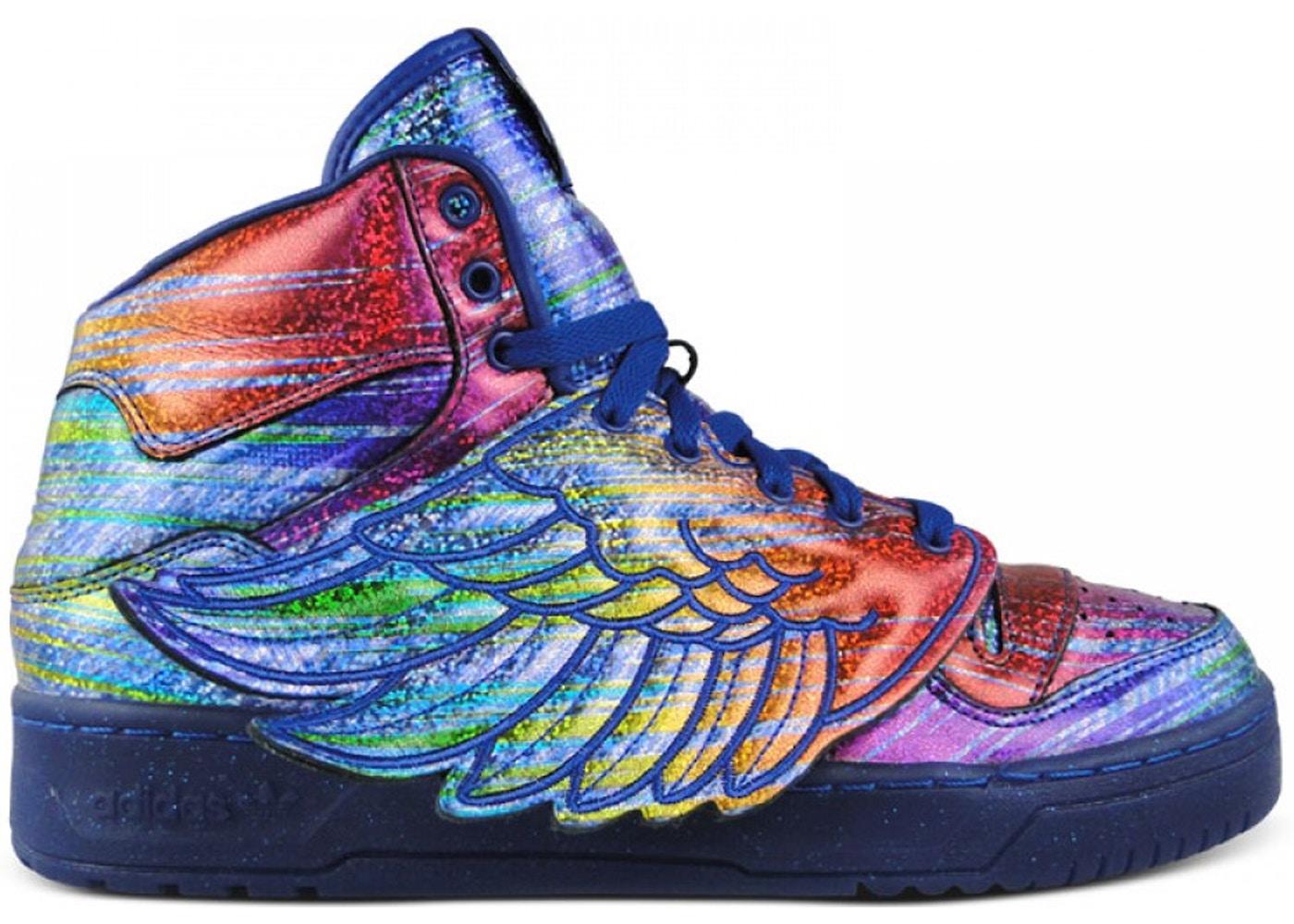 adidas JS Wings Jeremy Scott Rainbow Foil