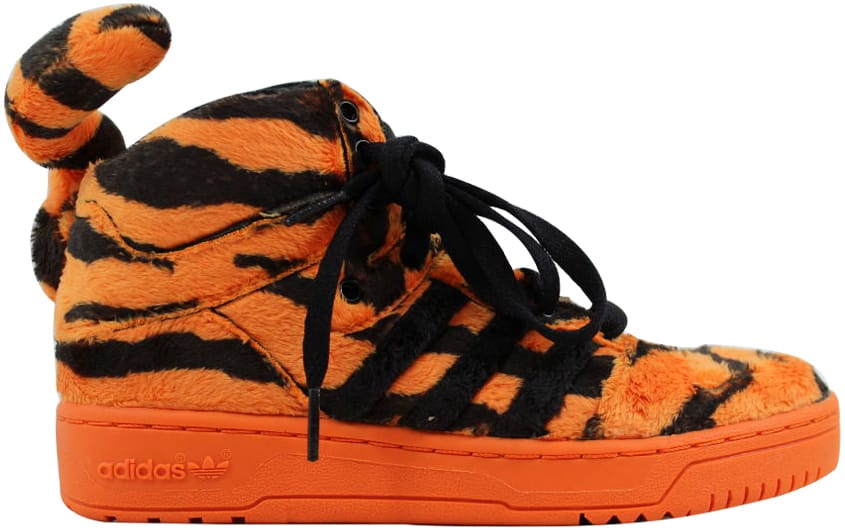 adidas Jeremy Scott Tiger Orangle/Black-White