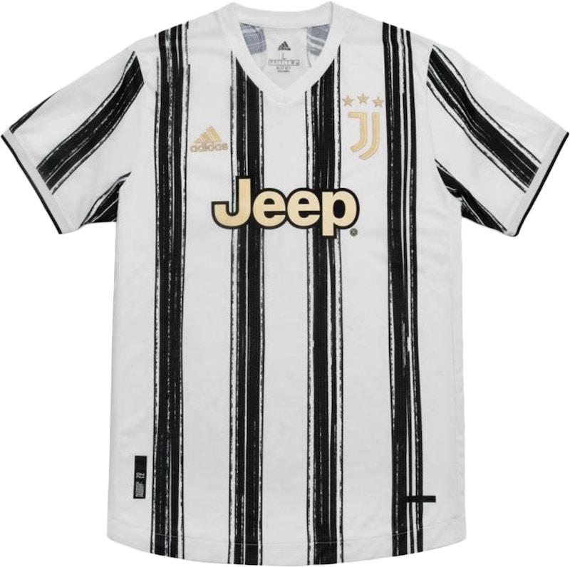 adidas Juventus Maglia Gara Home Authentic 2020/21 Jersey White -
