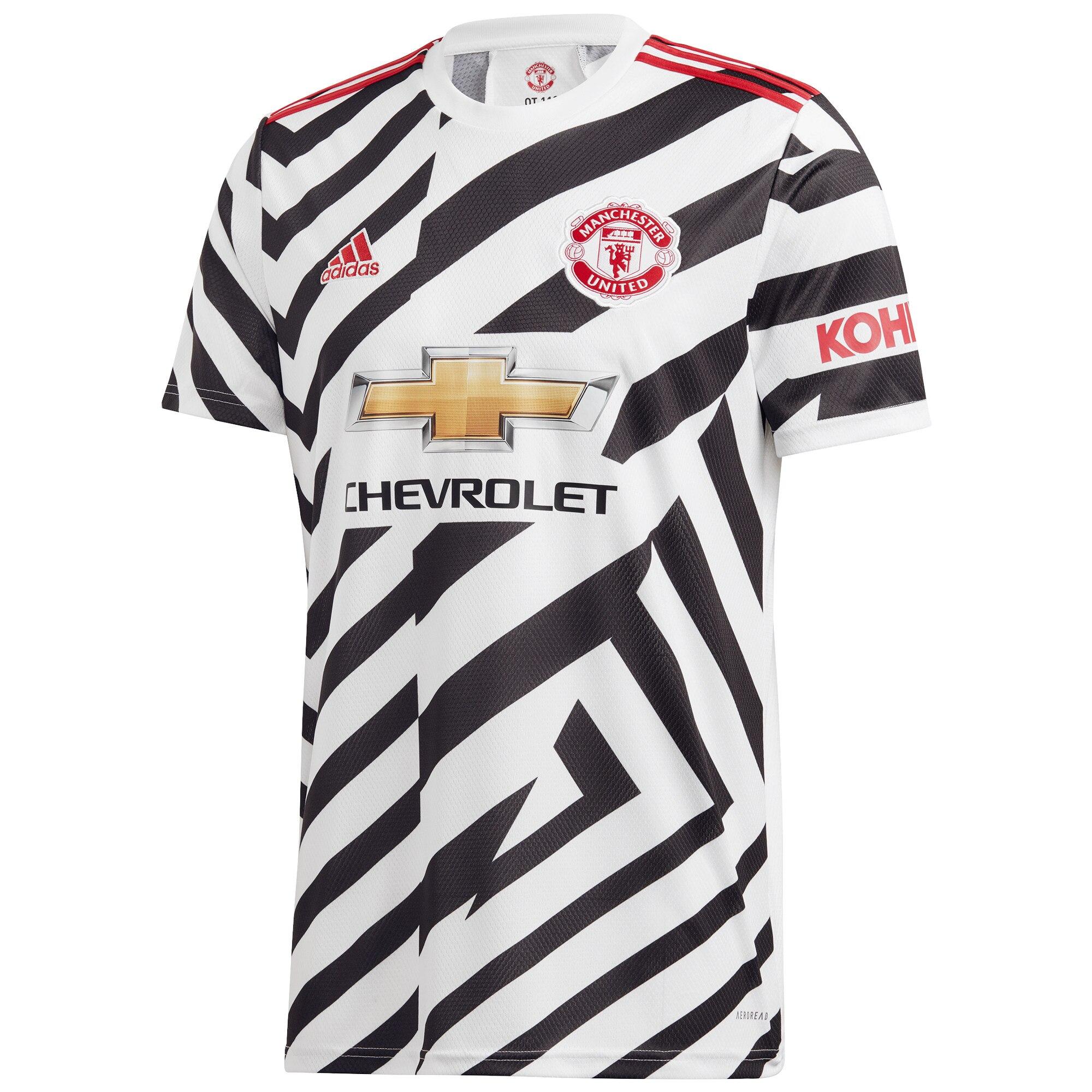adidas Manchester United Third Shirt 2020-21 Jersey White