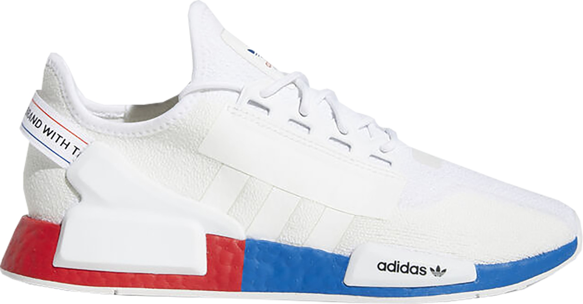 adidas NMD R1 White Red Blue