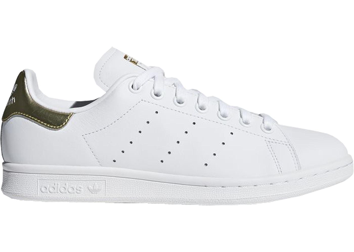 adidas Stan Smith Cloud White Gold Metallic (W)