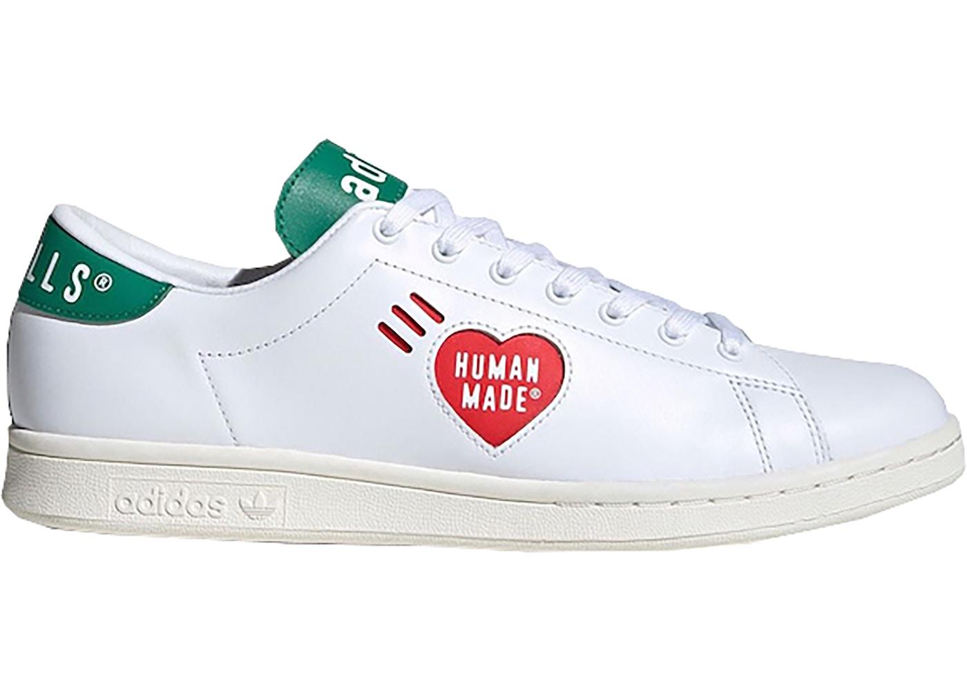 adidas Stan Smith Human Made White Green