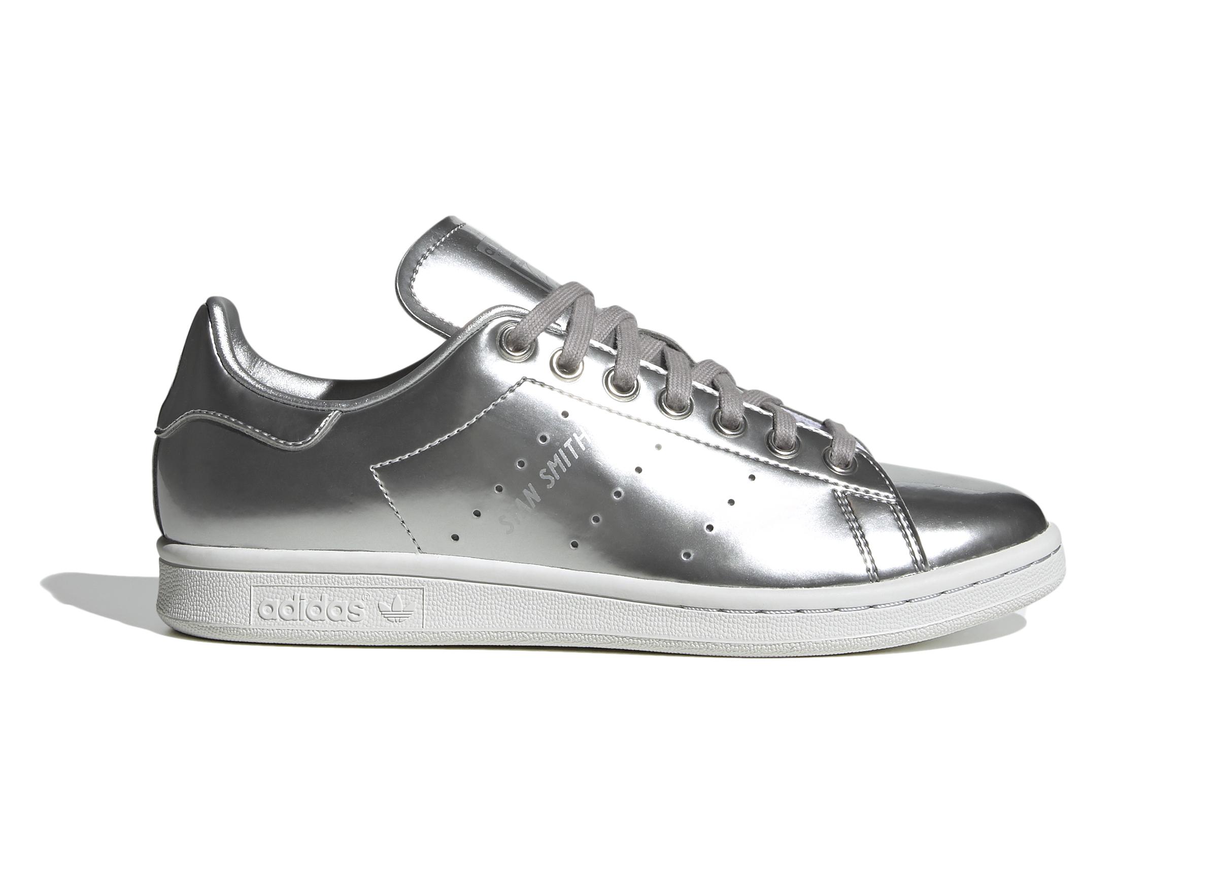 adidas Stan Smith Silver Metallic (W) - FV4068