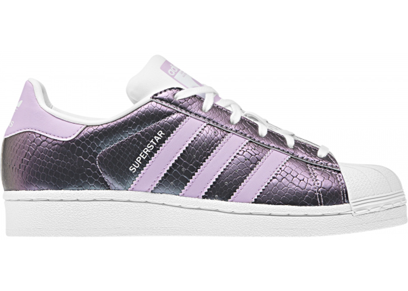 adidas Superstar Snake Clear Lilac (Youth)