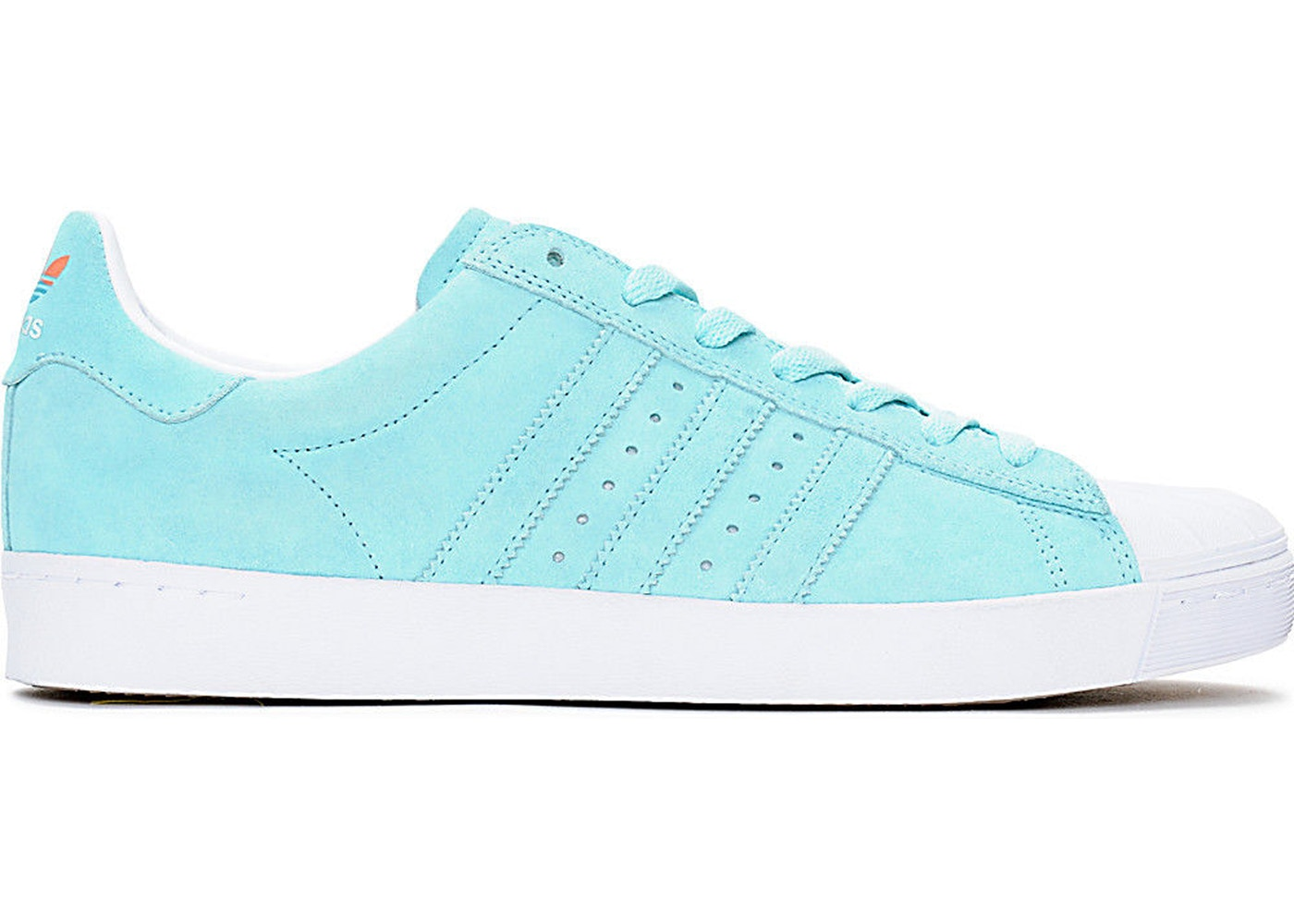 adidas Superstar Vulc Adv Blue Pastel - CG4840