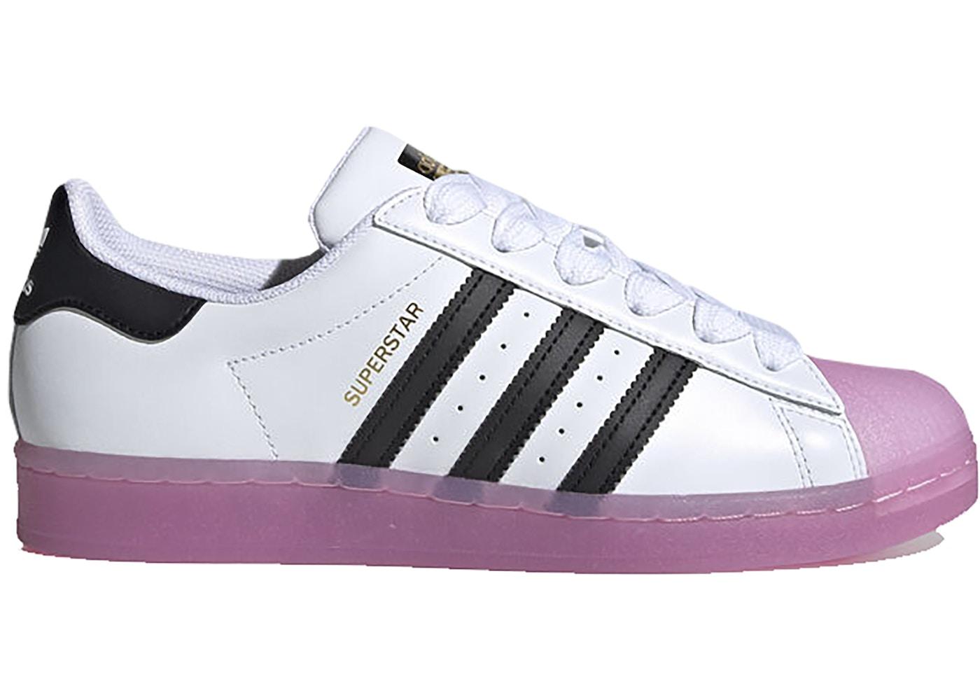 adidas Superstar White Black Shock Purple (W)