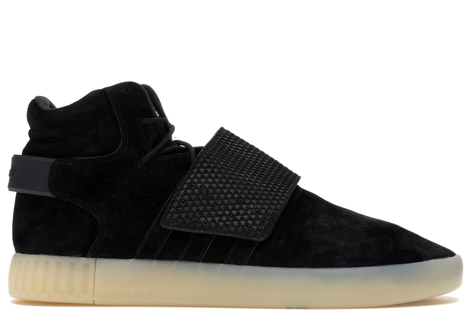 adidas Tubular Invader Strap Black/Black-White