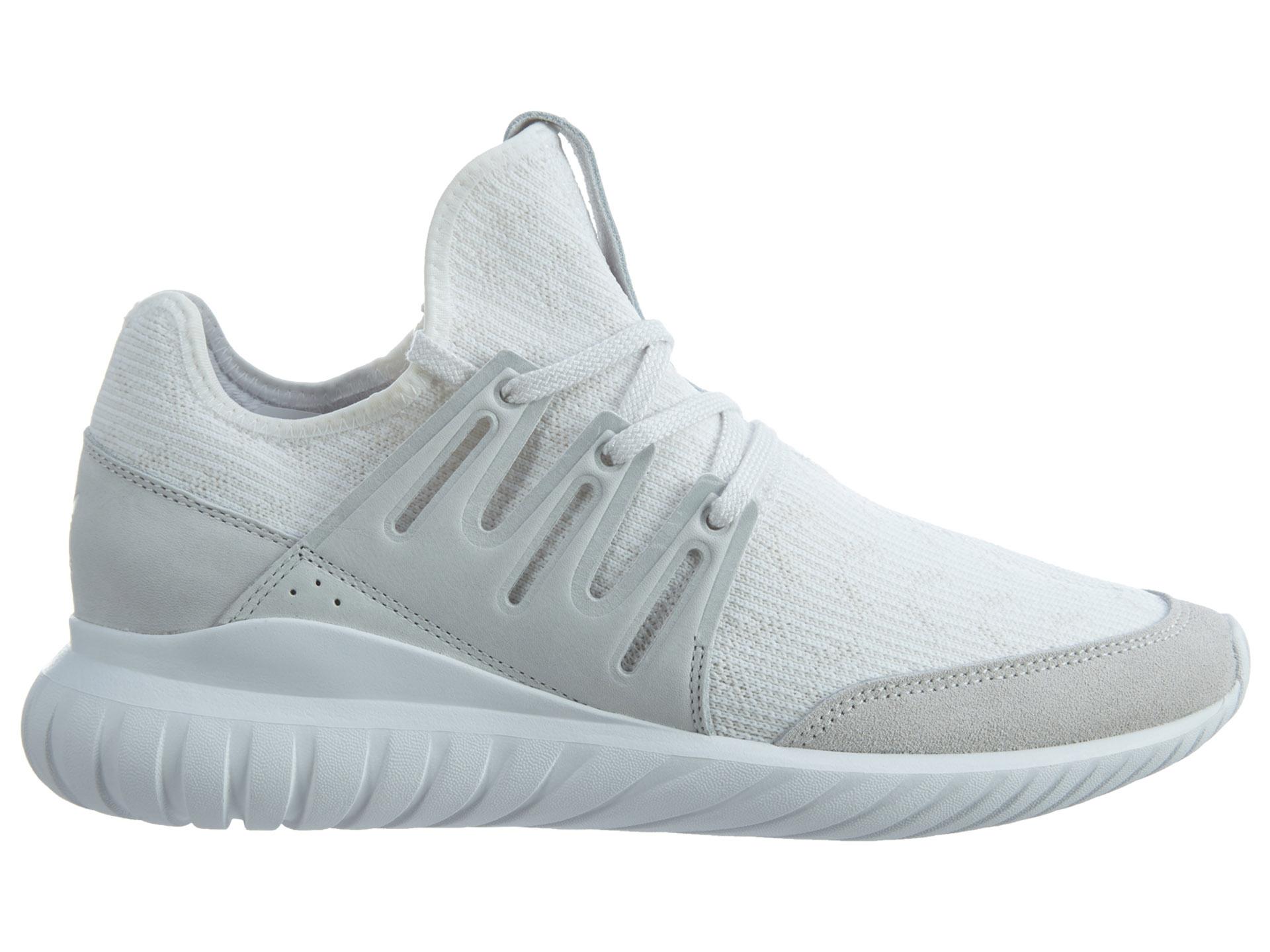 adidas Tubular Radial Pk White White-Black