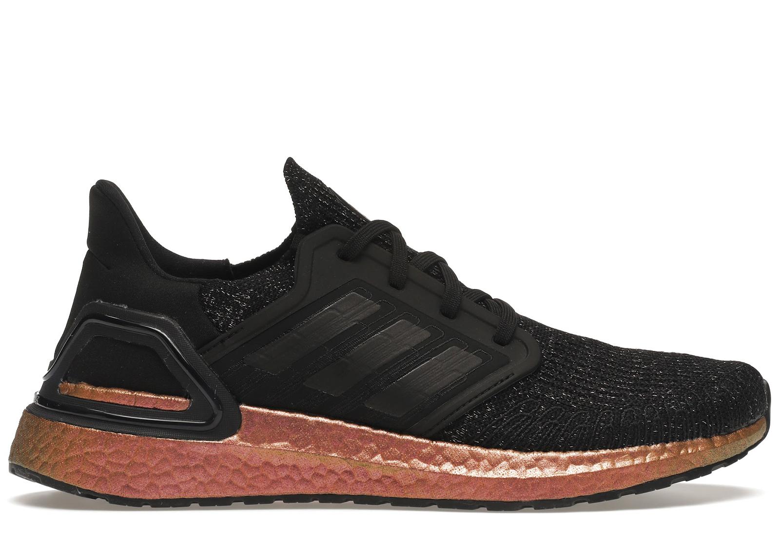 adidas Ultra Boost 20 Black Signal Pink