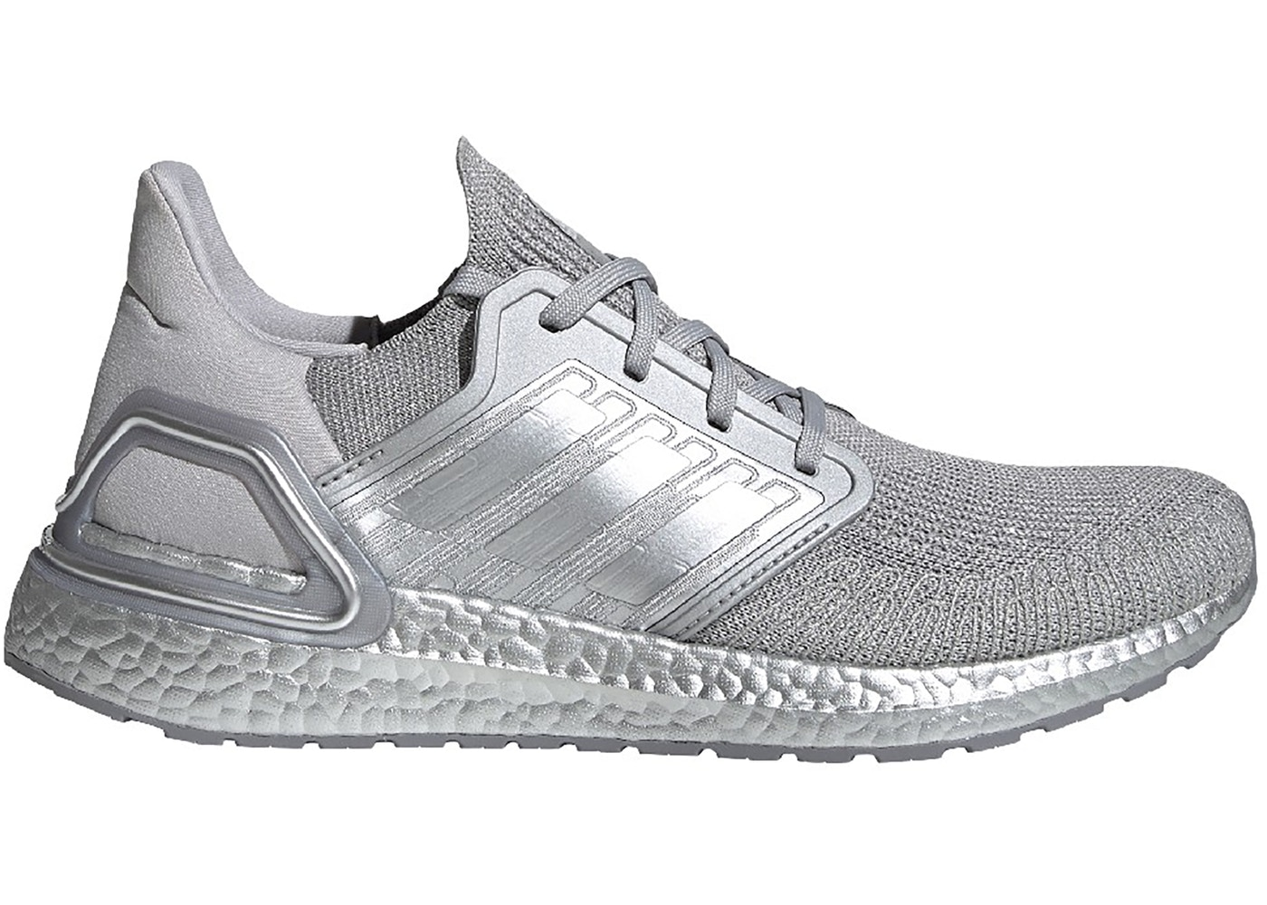 adidas Ultra Boost 20 Silver Metallic