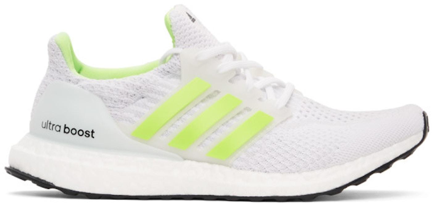 adidas Ultra Boost 5.0 DNA Cloud White Signal Green