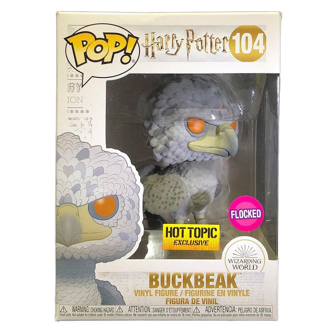 Funko Pop Harry Potter Hot Topic Exclusive Flocked BuckBeak #104