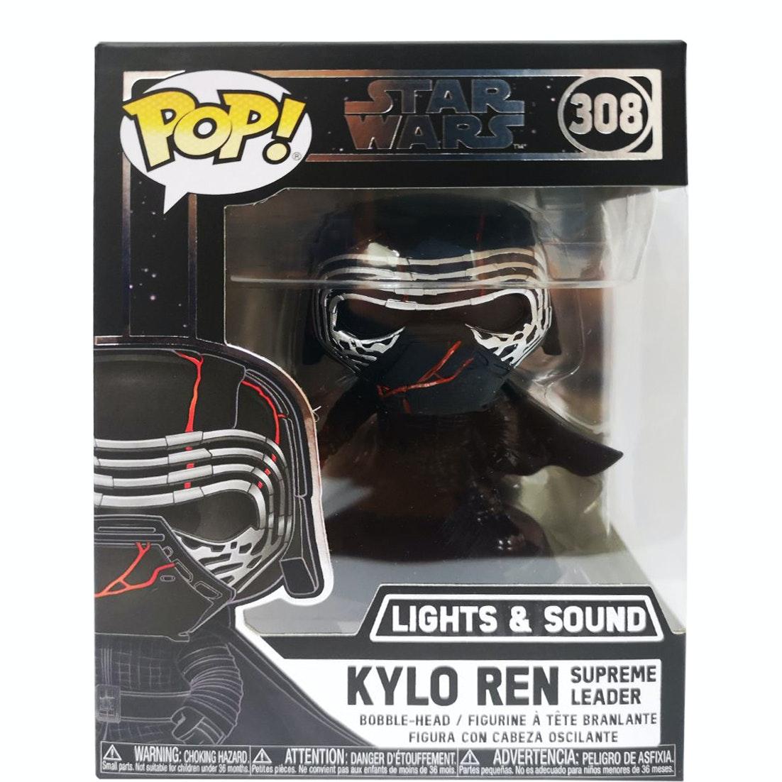MINT Kylo Ren Supreme Leader #308 Star Wars Funko Pop Bobble-Head