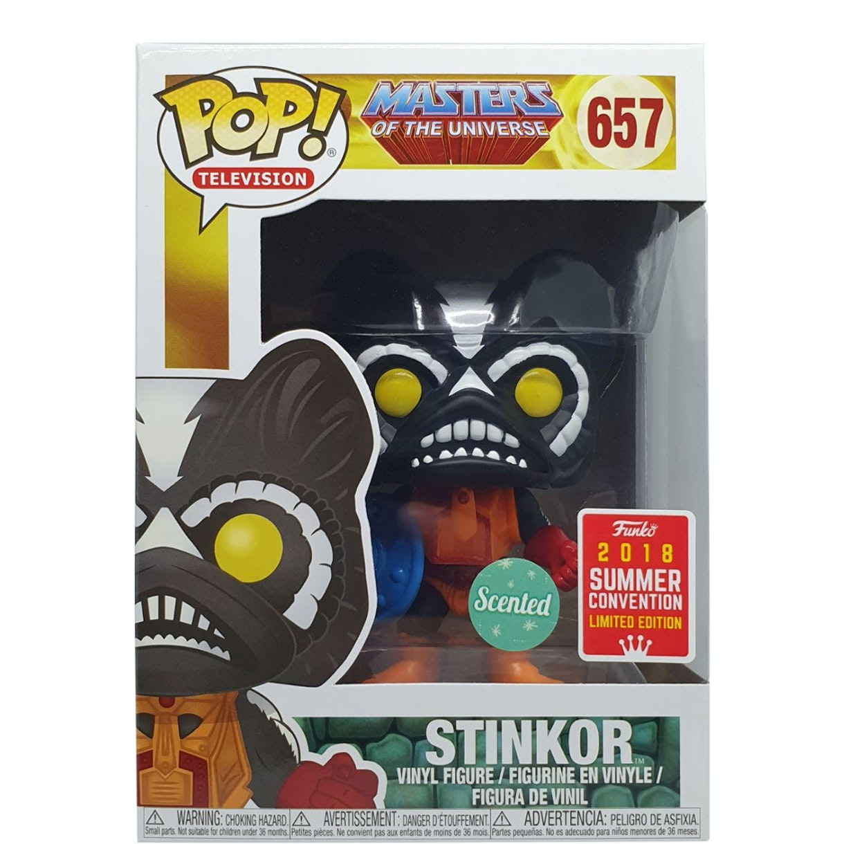 Stinkor Scented #657 Masters of the Universe 2018 Summer Convention Exclusive Funko POP