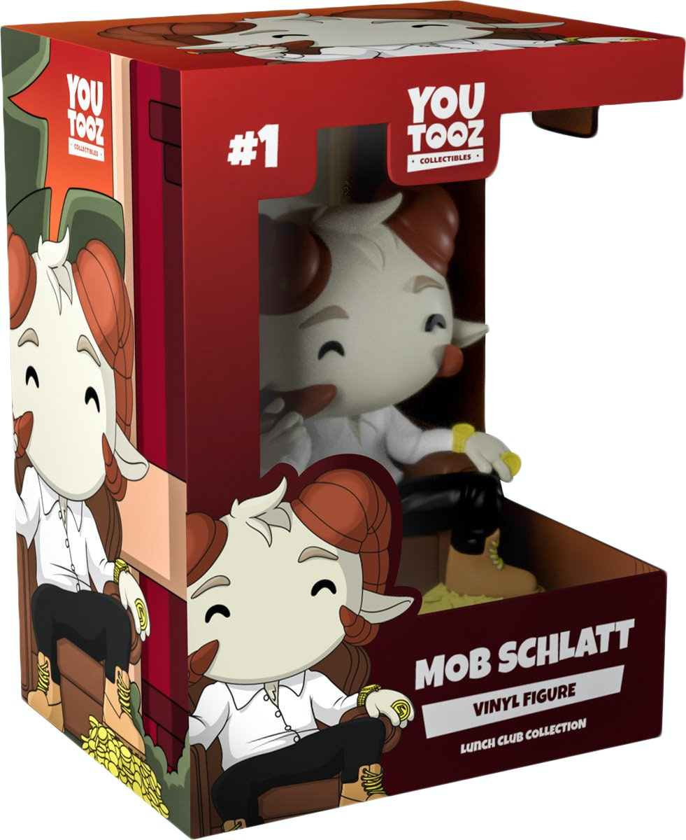 Mob Schlatt #1 Youtooz Lunch Club Collection Mafia Colored PREORDER SOLDOUT