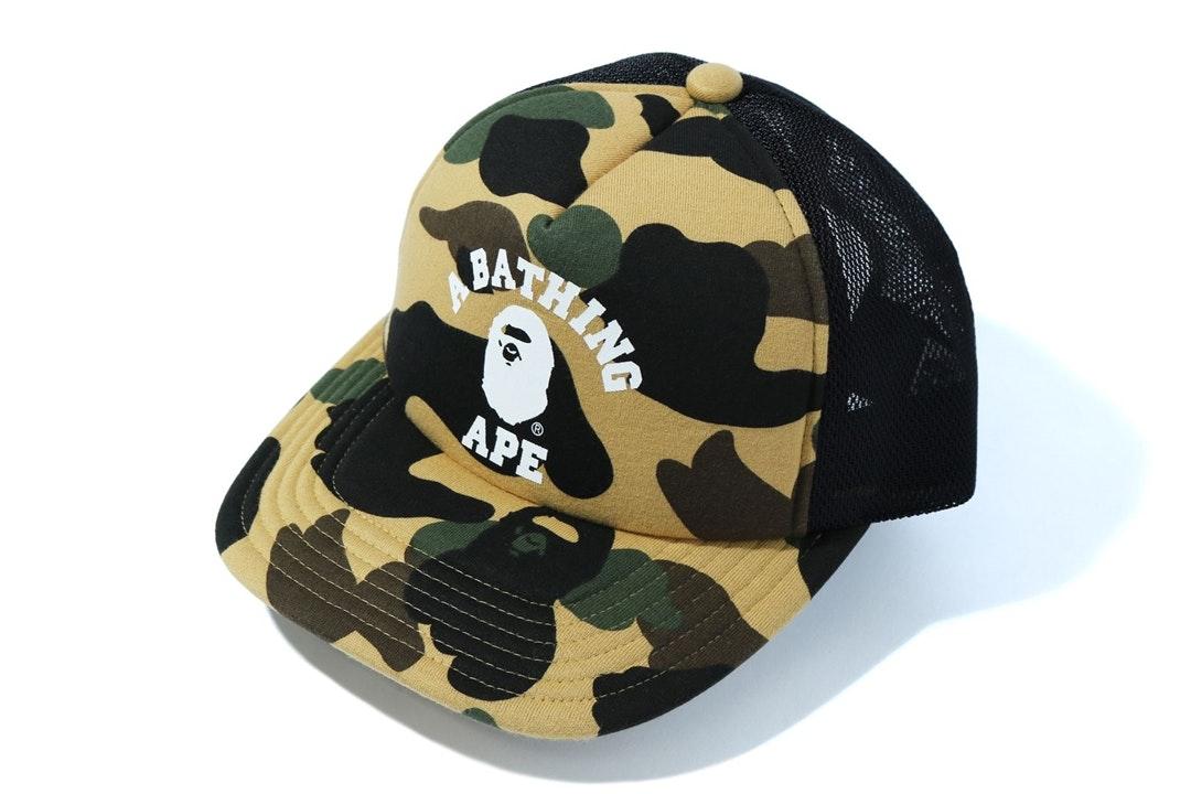 A BATHING APE Goods Men/'s SHARK PANEL CAP 5colors Japan New