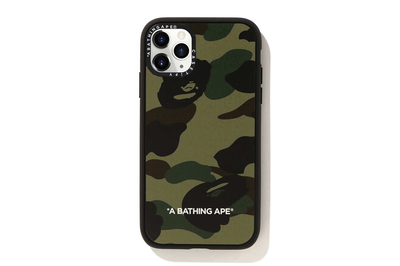 BAPE Casetify 1st Camo iPhone 11 Pro Case Green