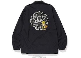 Bape X Naruto Coach Jacket Black Fw18