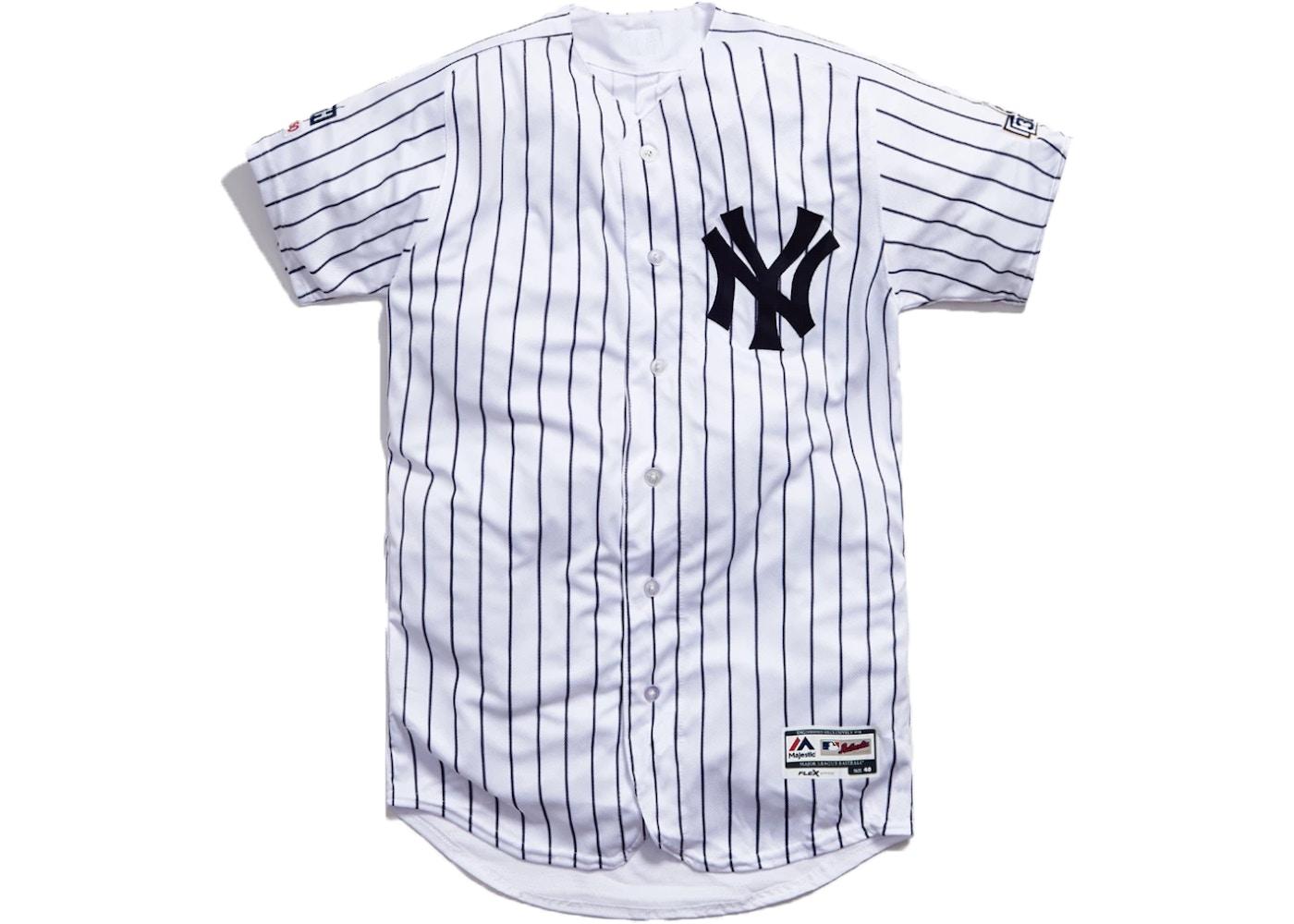 Kith x CC Sabathia x MLB Home Jersey White/Navy