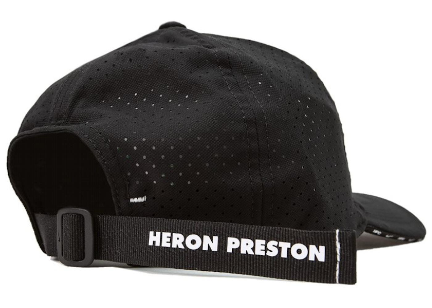 Excepcional Noble Loco  Nike x Heron Preston NRG H86 Hat Black - SS19