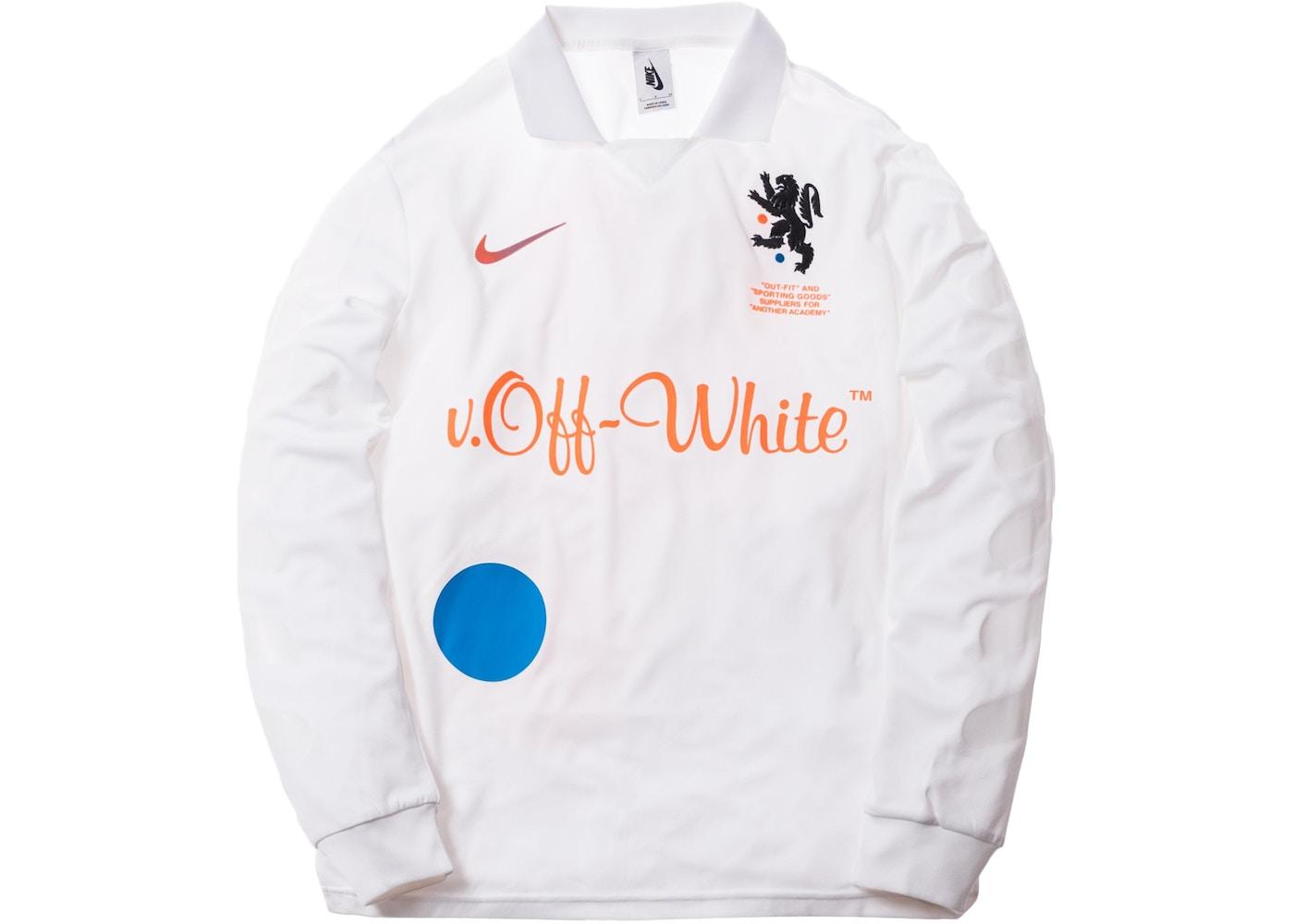 notificación ala Baya  Nikelab x OFF-WHITE Mercurial NRG X FB Jersey White - SS18