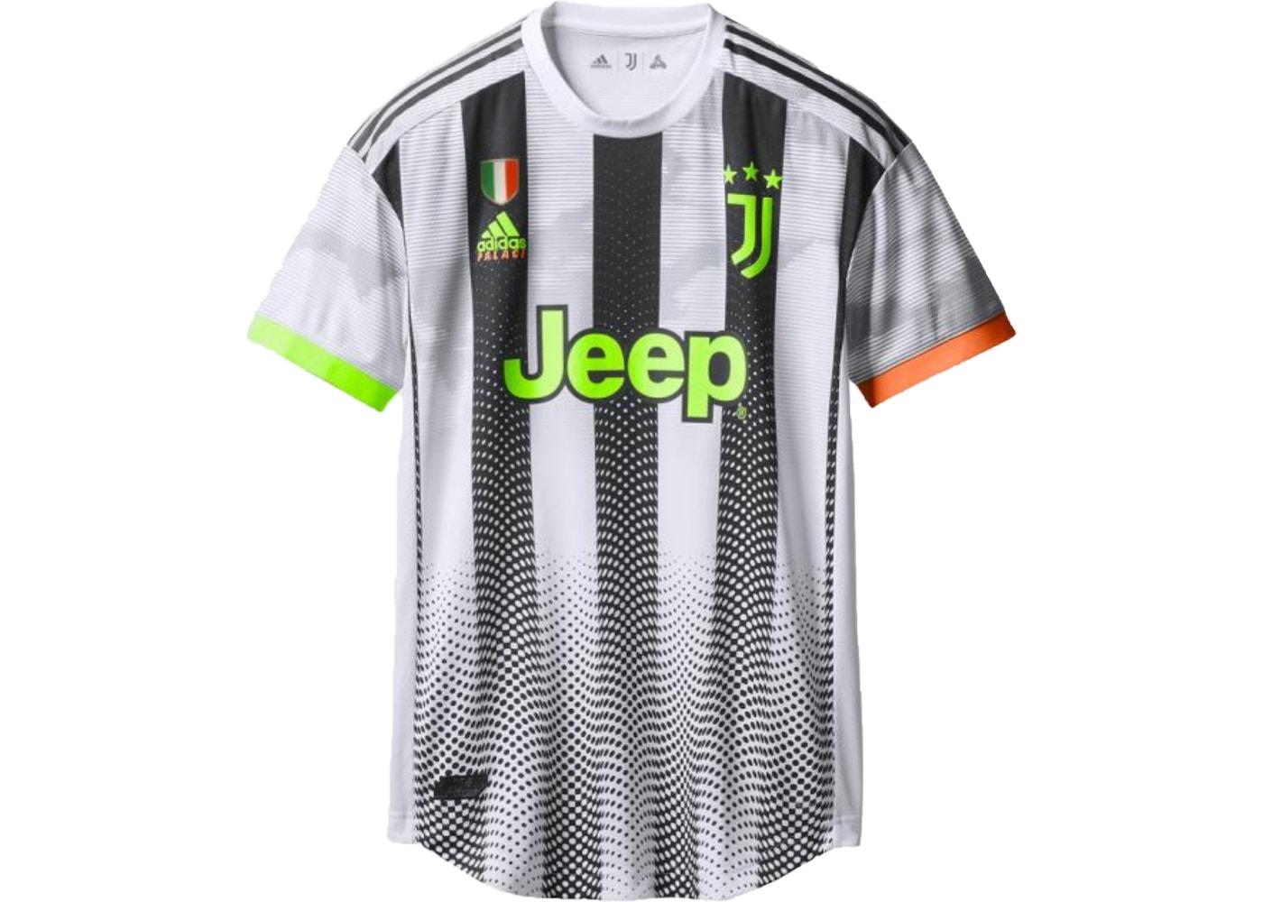 Palace Adidas Palace Juventus Authentic Ronaldo 7 Match Jersey White