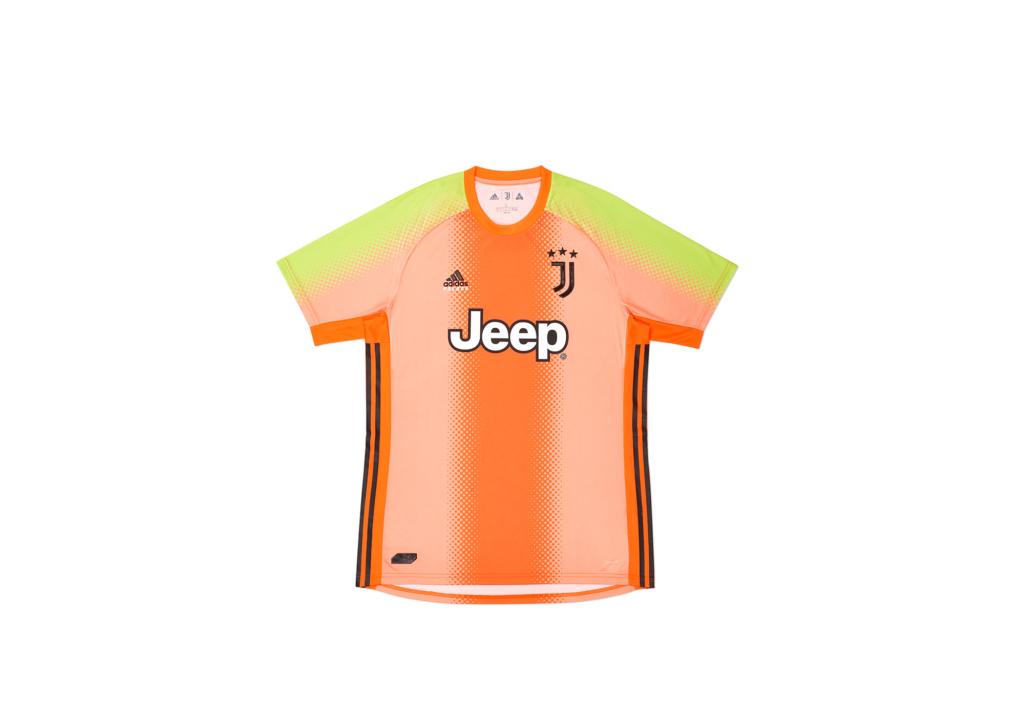 Palace Adidas Palace Juventus Fourth Goalkeeper Jersey Orange/Slime