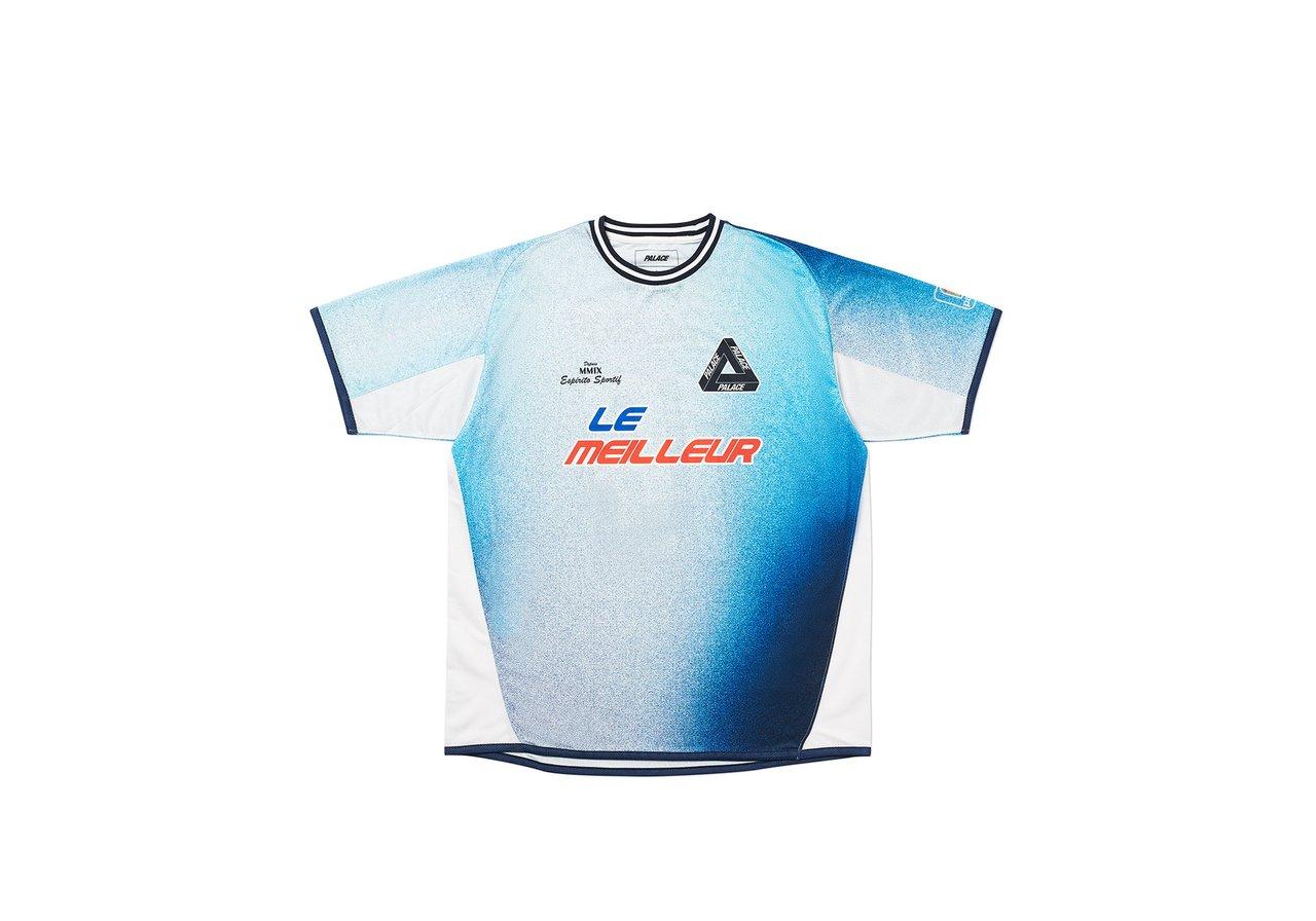 Palace Multi Option Footie Jersey Blue
