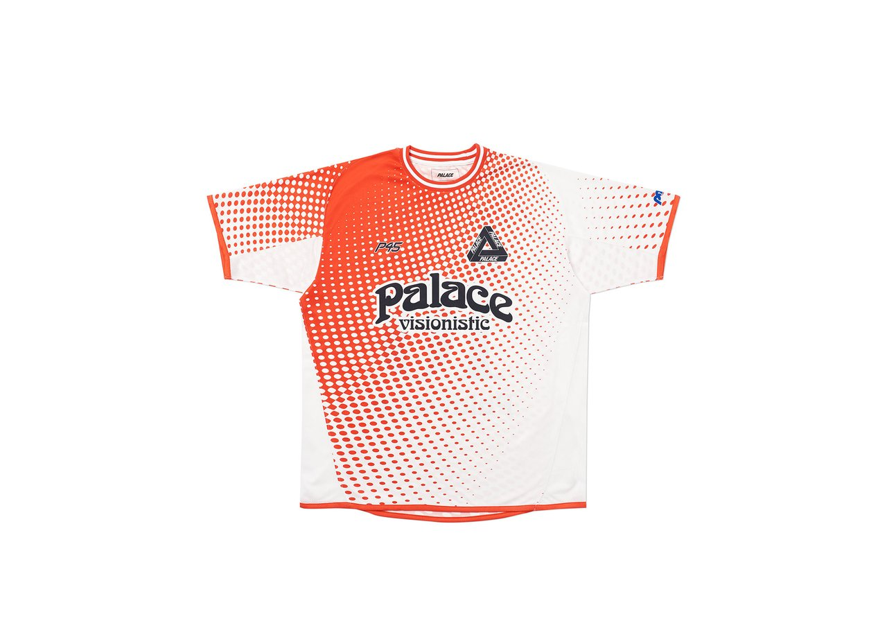 Palace Multi Option Footie Jersey White/Red