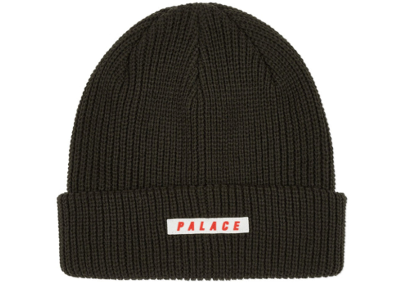 Palace Spaced Beanie Olive
