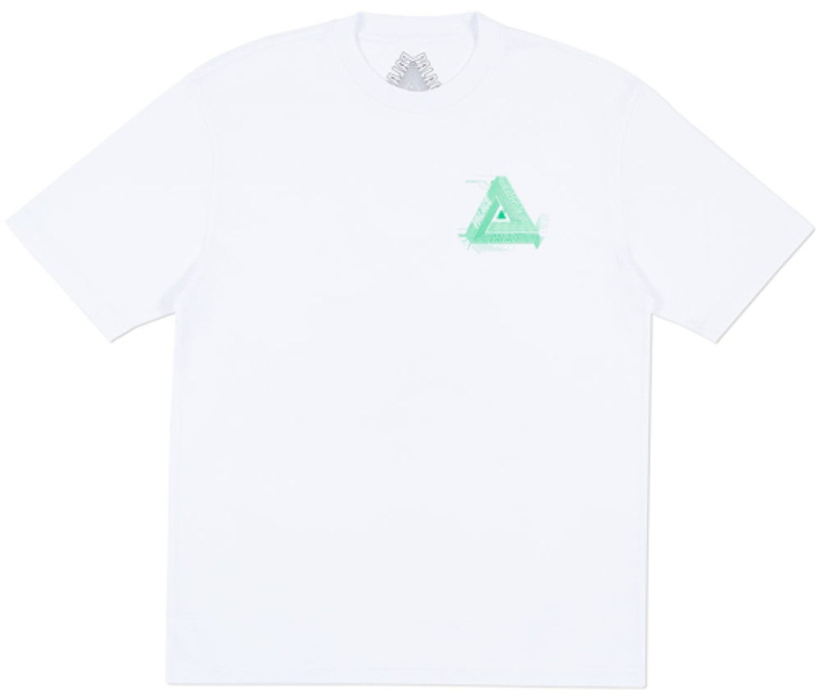 Palace Surkit T-Shirt White/Green