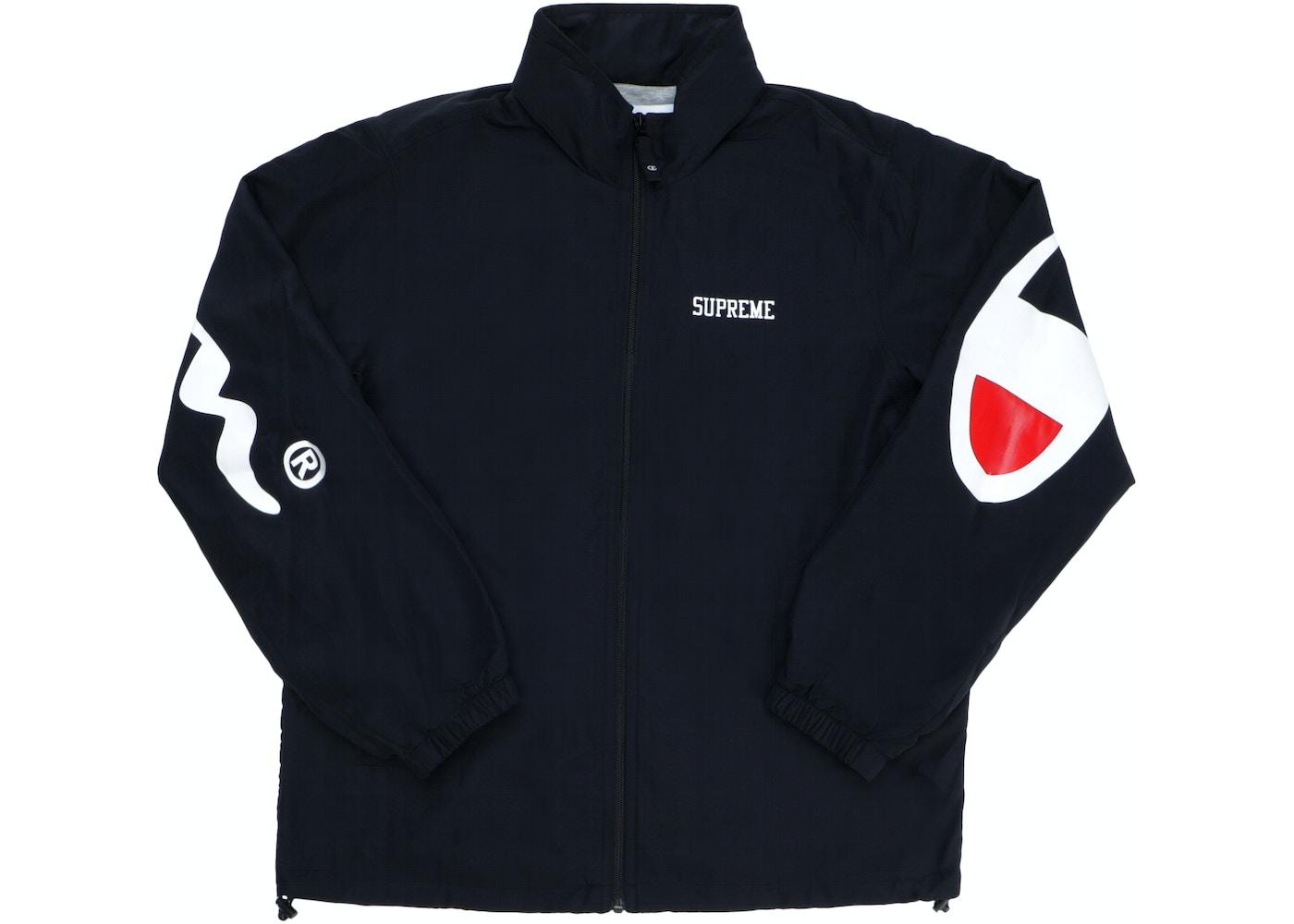 Supreme Champion Track Jacket Black Ss18