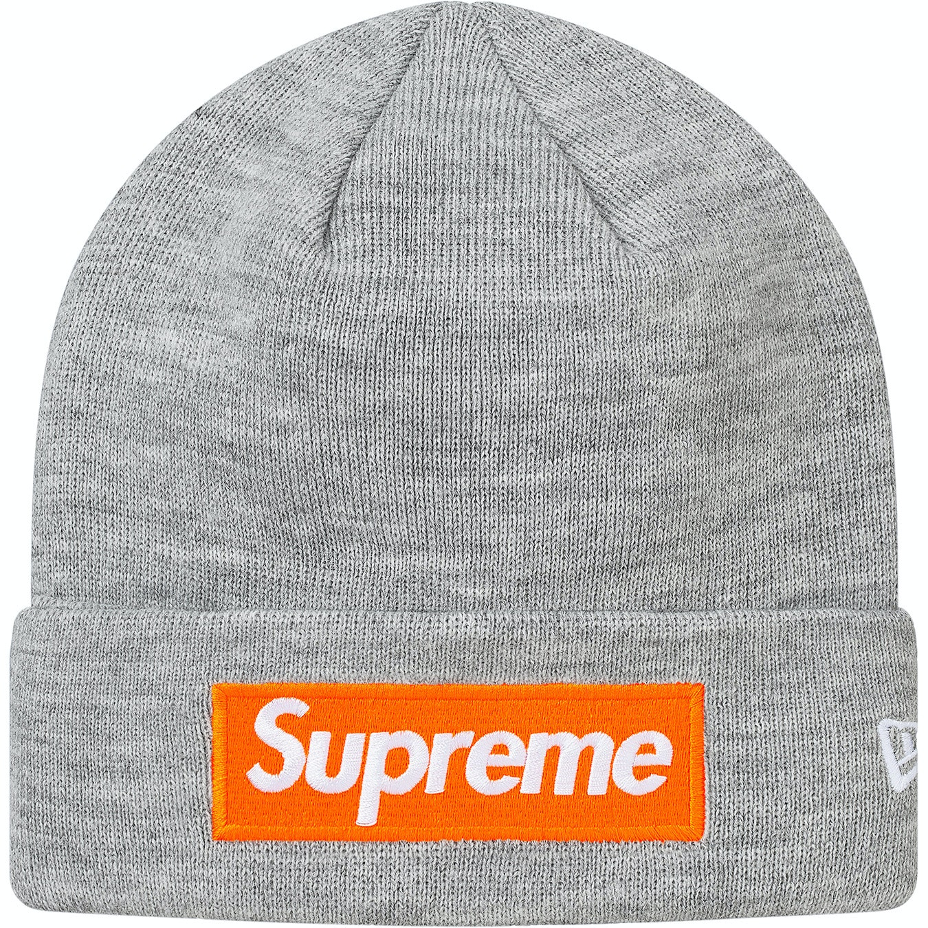 Supreme x New Era Black S Logo FW17 Beanie
