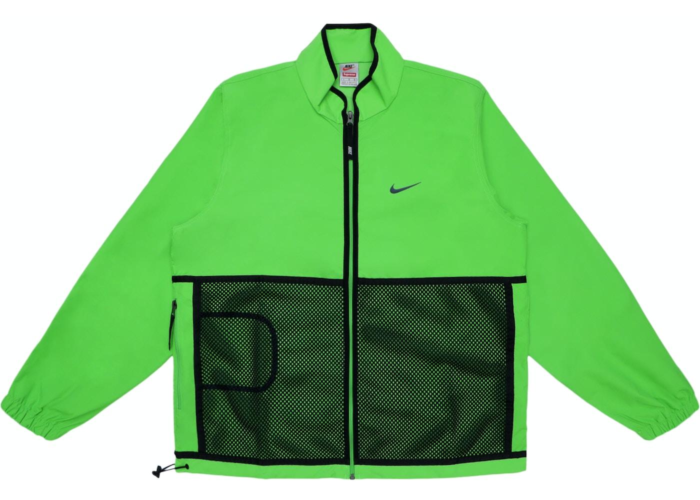 interior Maduro Jane Austen  Supreme Nike Trail Running Jacket Green - FW17