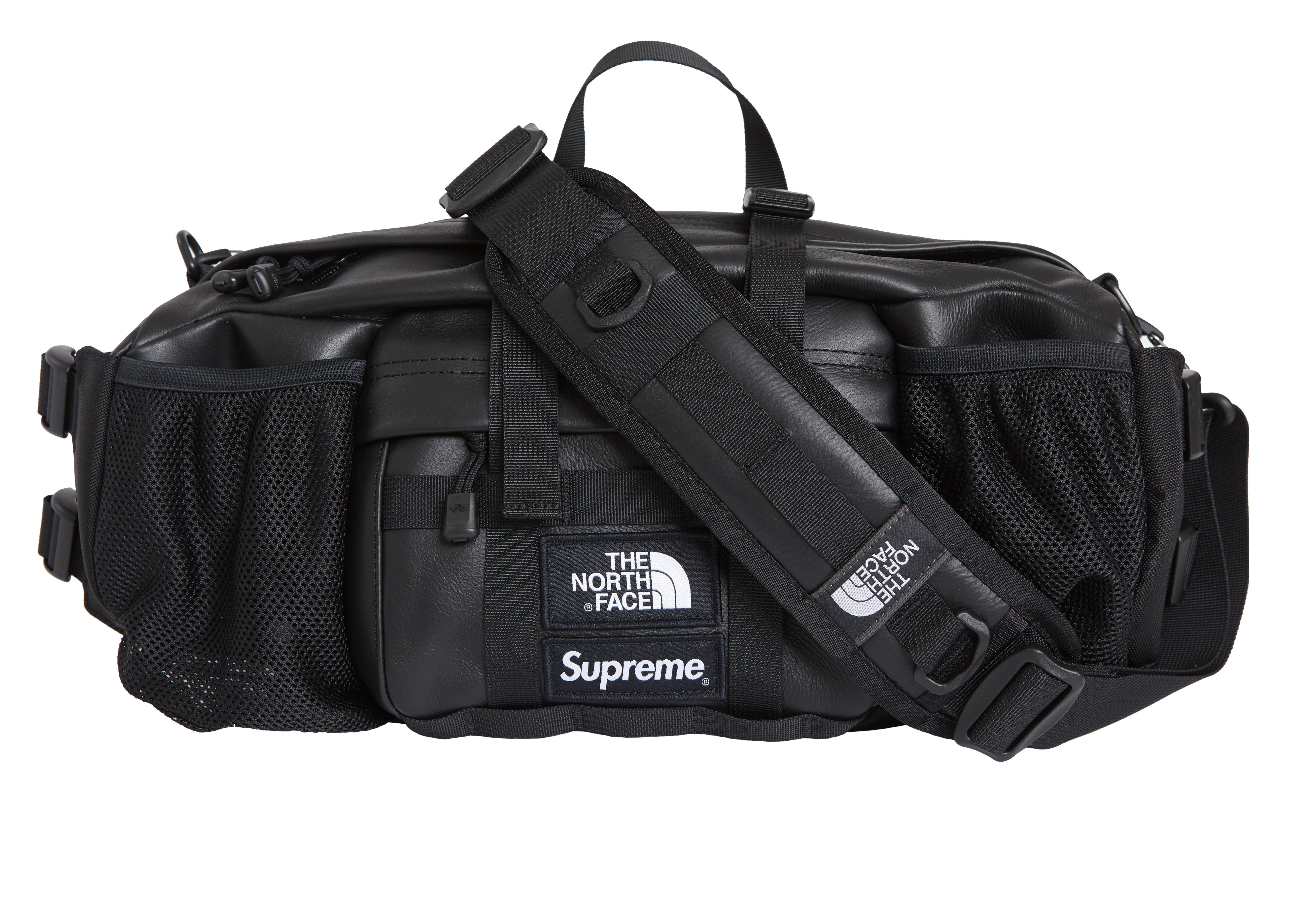 Supreme North Face Leather Waist Bag