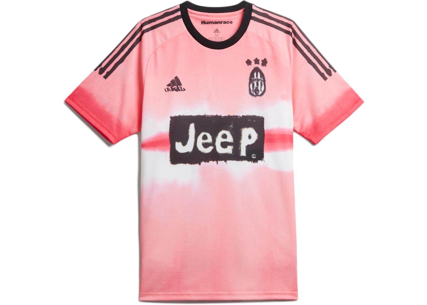 adidas Juventus Human Race Jersey Glow Pink/Black
